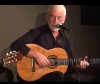 Éric Fraj a la guitare