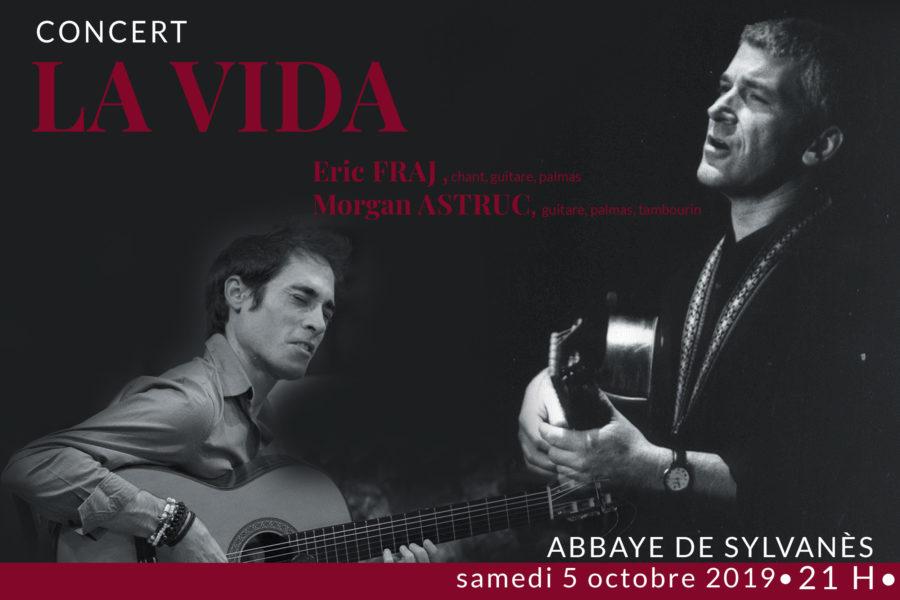Affiche du concert dans l'Abbaye de Sylvanès (12)