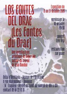 Affiche pour le concert de l'Ostal d'Occitania