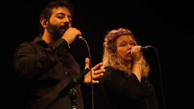 Sarah Fraj et Guillaume López